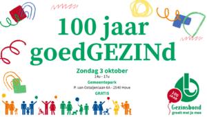 100jaar goedGEZINd banner